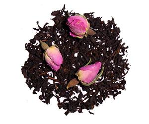 چای و گل محمدی