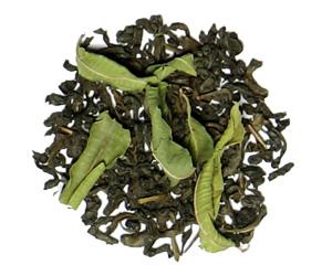 چای سبز و به لیمو